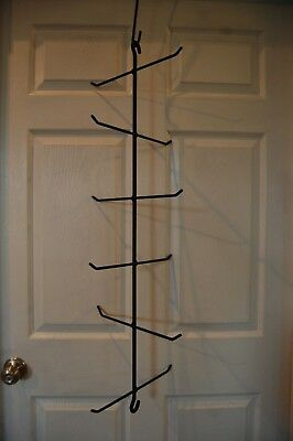 Amish Hand Made Hanging Wrought Iron Tree Hanger For  12 Longaberger Baskets