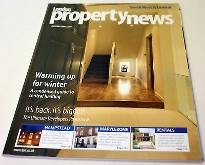 London Property News Magazine-Issue 155 October 2006-Very Rare-Free Post Europe
