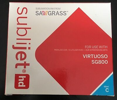 Sawgrass SubliJet-HD Virtuoso SG800 Cartridge Ink 209112 Cyan 75ml