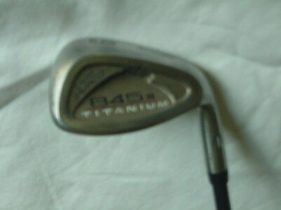 Used RH Tommy Armour 845s Titanium Face Irons, 4-9 & PW, 3rd. Wedge, R Flex