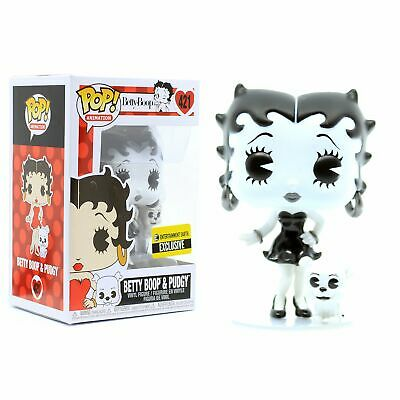 Funko POP! Betty Boop & Pudgy Black & White #421 Exclusive