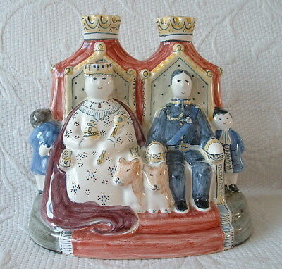 Rye Pottery 'State Occasion' Royal Family Figure Group – T. Cole / C O' Donaghue