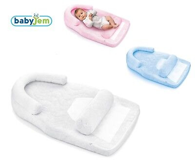 BabyJem Infant Newborn Baby Reflux & Flat Head Sleep Pillow Cushion (ART-426)
