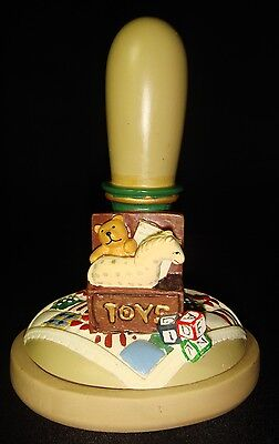 Brown Bag Cookie Art Mold Press 1996 Toy Chest No. 20 Collectible Christmas