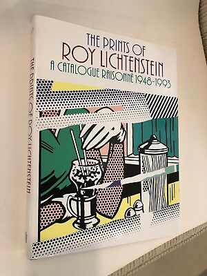 Rare The Prints of Roy Lichtenstein A Catalogue Raisonne 1948-1993 1st Edition