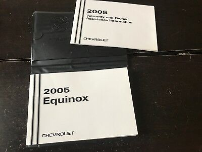 chevrolet equinox owners manual