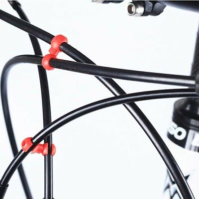 10PCS Mountain Road Bicycle Brake Cable Bike Hydraulic Cable S Buckle Hook LG