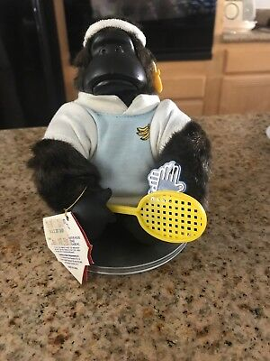 Gorilla Monkey Magical Murphy Doll Mouth Open toy Tennis Player Style