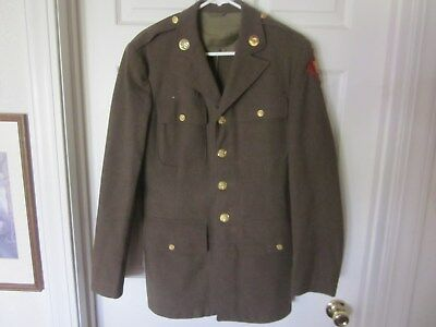 US Army uniform World War II with pants & shirt size S Small