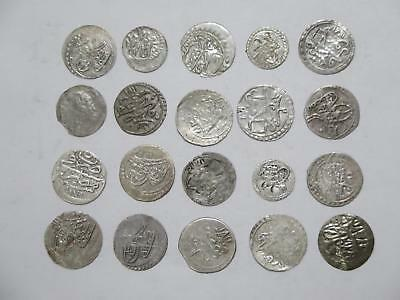 Egypt Turkey Ottoman Para Islamic Medieval Silver? World Coin Collection Lot #h