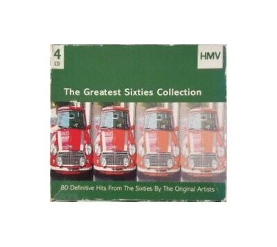 Various - Various: The Greatest Sixties Collection 4xCD - Various CD RYVG The