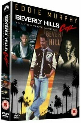 Beverly Hills Cop Trilogy: The Complete Line Up (3 Disc Box Set) ... - DVD  9OLN