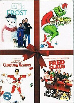 Jack Frost/How the Grinch Stole Christmas/National Lampoon's Chri... - DVD  UWVG