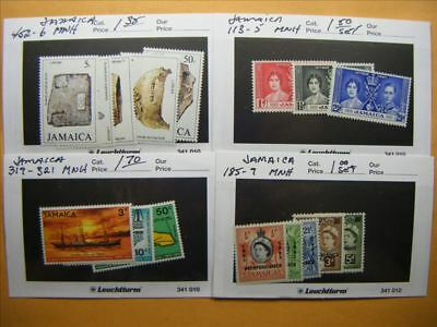 9456 Jamaica Lot of 4 Mint Stamp Packs