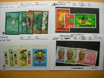 9460 Jamaica Lot of 4 Mint Stamp Packs