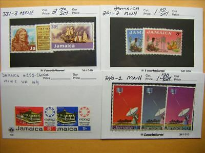 9464 Jamaica Lot of 4 Mint Stamp Packs