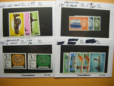 9465 Jamaica Lot of 4 Mint Stamp Packs