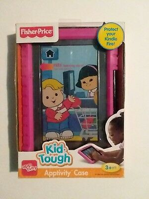 Fisher Price Kid-Tough Apptivity Case for Kindle Fire, Pink (will not fit HD's)