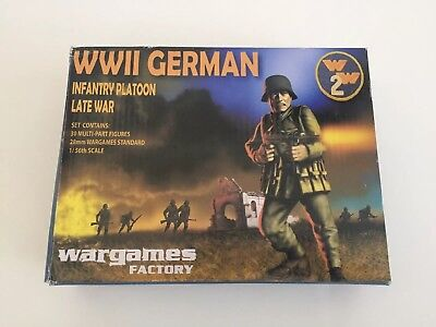 Late War German Infantry by Wargames Factory 28mm