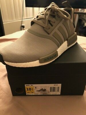 188255b3d5522 ... Adidas NMD R1 Runner Mesh Trace Cargo Trail Olive BA7249 Men Size ...