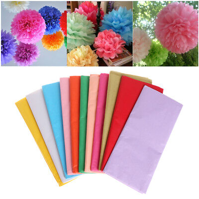 Craft Wrapping Packing Gift Tissue Paper Flower Making Origami Scrapbooking