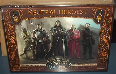 A Song of Ice and Fire Tabletop Miniatures Game Neutral Hero's 1