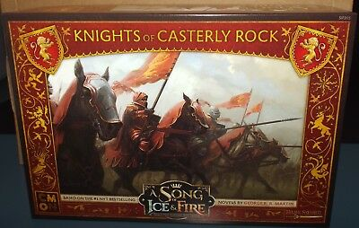 A Song of Ice and Fire Tabletop Miniatures Game Knights of Castlerly Rock