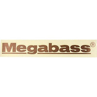 Megabass Sticker 20cm Gold From Stylish Anglers Japan