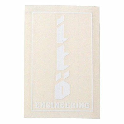 Megabass Sticker ITO 4cm x 7cm White From Stylish Anglers Japan
