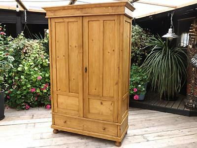 Gorgeous! Old Antique Pine Knock Down/ Sectional Wardrobe. We Deliver/ Assemble!
