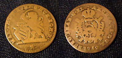 Dubbele Schelling of Escalin Maria Theresia 1752 (Brugge) 1