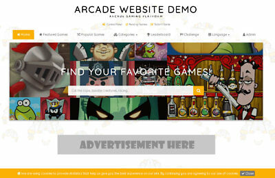 Create Your Own Arcade/ Gaming Website (Free Installation + Hosting Included)