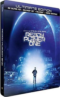 Edition Metal 4K + Blu Ray 3D + Blu Ray + Digital Hd  ** Ready Player One **