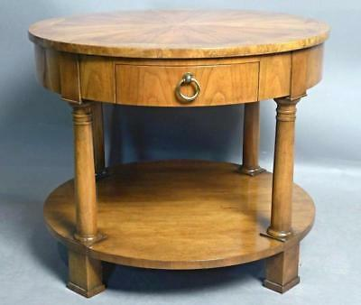 Antiques Nice Amber Mahogany Oval Occasional Table Carved End Side Lamp Coffee Dining Server Furniture
