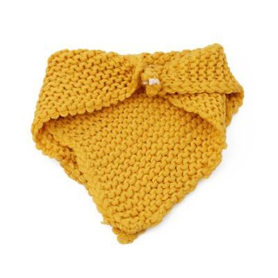 Baby Kids Wool Knit Winter Warm Knitted Neck Circle Cowl Snood Scarf 6A