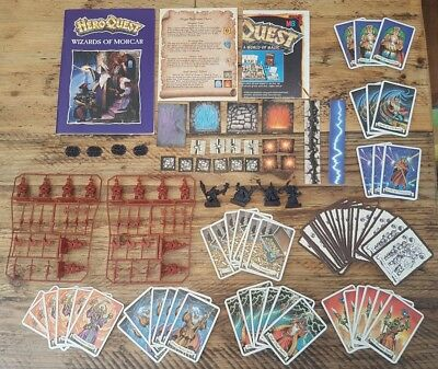 HeroQuest Wizards of Morcar unboxed - 100% complete Hero Quest [ENG,1992]