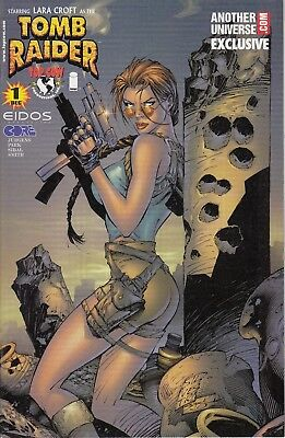 TOMB RAIDER 1...NM-...2001...Andy Park.. Universe  Cover  .HTF Bargain!