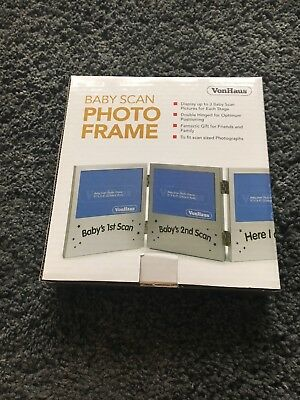 baby scan photo frame BNWT - New In Box
