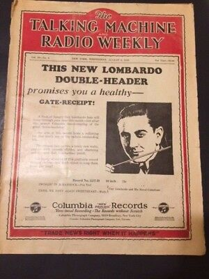 1939 The Talking Machine and Radio Weekly