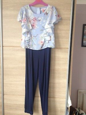 Ted Baker Girls Jumpsuit Aged 7/8 Years