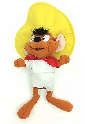 Ace Play By Play Speedy Gonzales Looney Tunes Plush Toy 10""