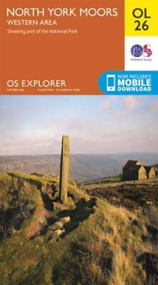 North York Moors - Western Area by Ordnance Survey 9780319242650