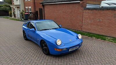Porsche 968CS Club Sport in Stunning Maritime Blue
