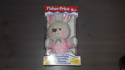 Fisher-Price Moonlight Dreams Bunny #311194250 1997