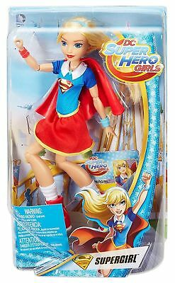 "NEW Mattel DC Super Hero Girls 12"" TOY Action Doll SUPERGIRL FREE SHIPPING NIB"