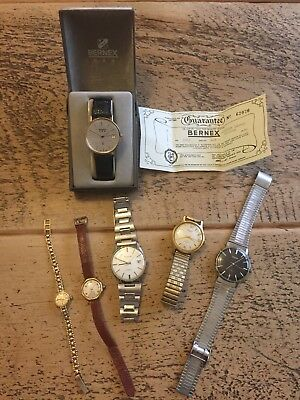 Job Lot Of Old & Vintage Watches, Spare Or Repair