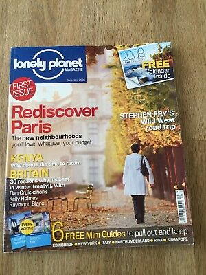 Lonely Planet Magazine December 2008 First Issue