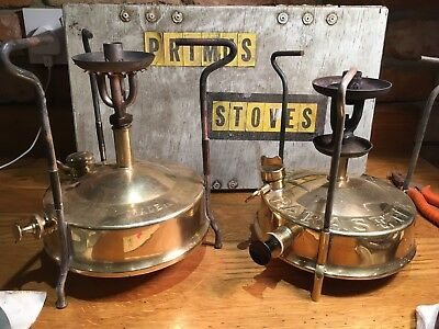 Two vintage Primus stoves