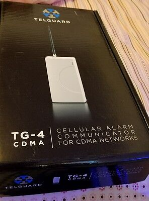 NEW - Telguard TG-4 CDMA Cellular Alarm Communicator For CDMA Networks