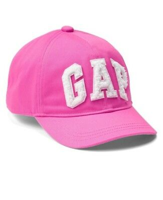 613ebc509446b Gap Baby Girl   Toddler Logo Eyelet Baseball Hat Cap Pink Size S M Small
